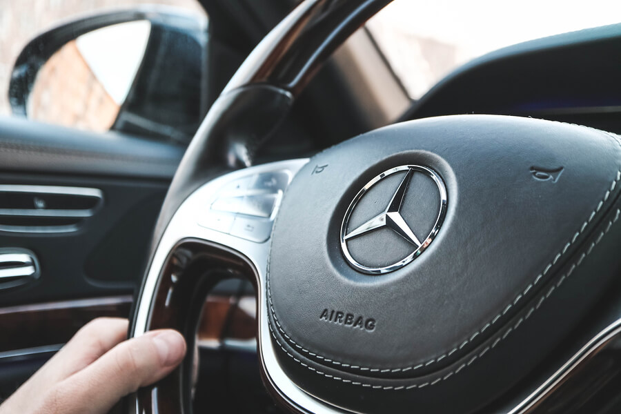 A Picture of a Mercedes